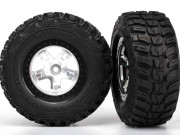 Traxxas TRX5880X Roues montees collees  kumho pour 4x4 avant/arriere - 4x2 arriere (2)