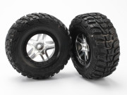 Traxxas 5882 Roues avant montees collees kumho pour 4x2 (2)