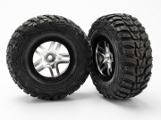 Traxxas 5882R Roues avant montees collees kumho ultra soft 4x2 uniquement (2)