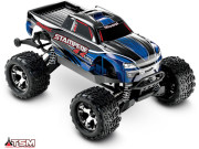Stampede 4x4 vxl - 1/10 brushless - wireless - id - tsm Traxxas