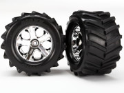 Traxxas 6771 Tires and wheels, assembled, g