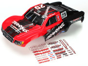 Traxxas 6825X Carrosserie slash 4x4 mark jenkins n°25 peinte et decoree