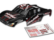 Traxxas 6826R Carrosserie slash 4x4 mike jenkins n°47 peinte et decoree (2014)