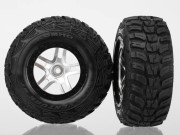 Traxxas TRX6874R Roues montees collees kumho pour 4x4 avant/arriere -4x2 arriere