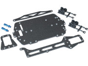 Latrax 7525 Kit conversion châssis carbone pour Latrax Rally