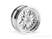 Hpi 8700106773 Jantes Hre C90 26mm Chrome (deport 6mm) S2