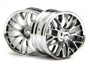 Hpi 3037 Jante bbs 57x35mm 2.2 chromee