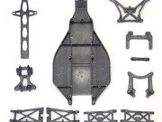 Team Associated 9655 pieces graphite (chassis triangles support amortisseur...) - b4