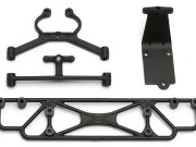 Team Associated 21348 sc18 rear bumpers/ skid