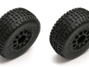 Team Associated 21352 sc18 mounted wheel/ tyres