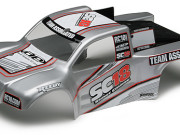 Team Associated 21355 sc18 rtr bodyshell silver