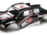 Team Associated 21356 sc18 rtr bodyshell black