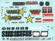 Team Associated 21363 sc18 rockstar - makita decals