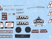 Team Associated 21365 sc18 kmc decals