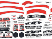 Team Associated 21369 sc18 ae decals