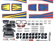 Team Associated 21410 rc18t2 decals