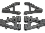 Team Associated 2236 carbon front arm set pins Team Asso NTC3