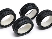 Team Associated 2405 ntc rtr tyres/inserts (4)