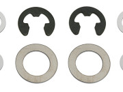 Team Associated 25019 mgt main gearbox shims & clips