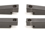 Team Associated 25106 mgt front & rear transmission chassis mounts