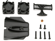 Team Associated 31037 motor cooling duct/fan kit