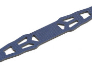 Team Associated 31039 tc3/4 blue graphite battery strap w/chrome decal