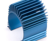 Team Associated 31049 tc4 motor heatsink blue aluminium (use with #31047)