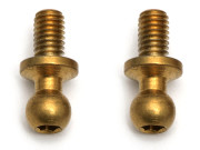 Team Associated 31291 ti nitride ball studs m3 x 5 long (2)