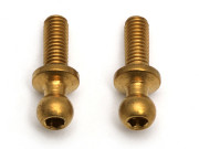 Team Associated 31292 ti nitride ball studs m3 x 8 long (2)