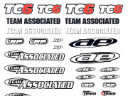 Team Associated 31299 tc6 decal sheet