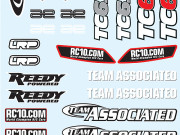 Team Associated 31371 tc6.1 decal sheet