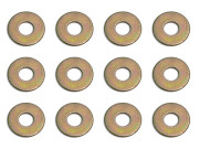 Team Associated 3216 #4 steel washers 1/8