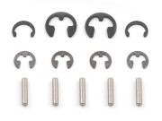 Team Associated AS3919 tc3 input shaft hardware set