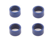 Team Associated 3965 tc3 axle bearing spacers blue (4)