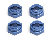 Team Associated 3972 tc3 blue aluminium hex drives (4)
