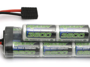 reedy wolfpack 3600mah 9.6v 8-cell pack w/traxxas plug Reedy