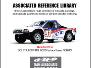 Team Associated 6992 ae cd ref. library cd. catalog ues,exploded drawings, manuals