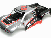 Team Associated AS7110 sc10gt rtr body silver