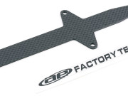 Team Associated 7452 t4 woven carbon fibre batt strap w/sticker