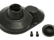 Team Associated 7460 rc10b4/t4 0.45 moulded gear cover black