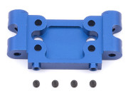 Team Associated 7990 factory team rc10gt2 blue alum front bulkhead