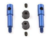 Team Associated 8443B factory blue inline front axle