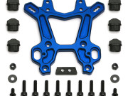 Team Associated 89307 rc8tce factory blue aluminiumfront shock tower