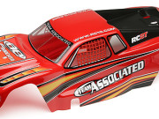 Team Associated 89389 rc8t rtr bodyshell red