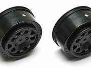 Team Associated 91101 sc10 4x4 kmc hex wheels black