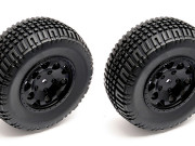 Team Associated 91104 sc10 4x4 kmc hex wheel/tyre black