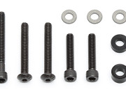 Team Associated AS91312 12mm big bore mounting hardware