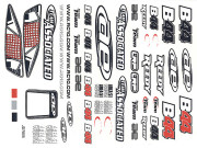 Team Associated 9778 b44 decal sheet