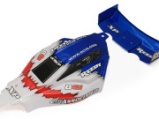 Team Associated 9790 b4.1 rtr bodyshell blue