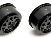Team Associated 9807 sc10 kmc front wheels black